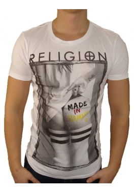 MADE IN GERMANY - T-Shirt Herren - weiß - Religion